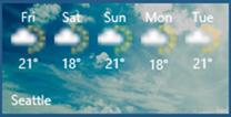 WeatherTile